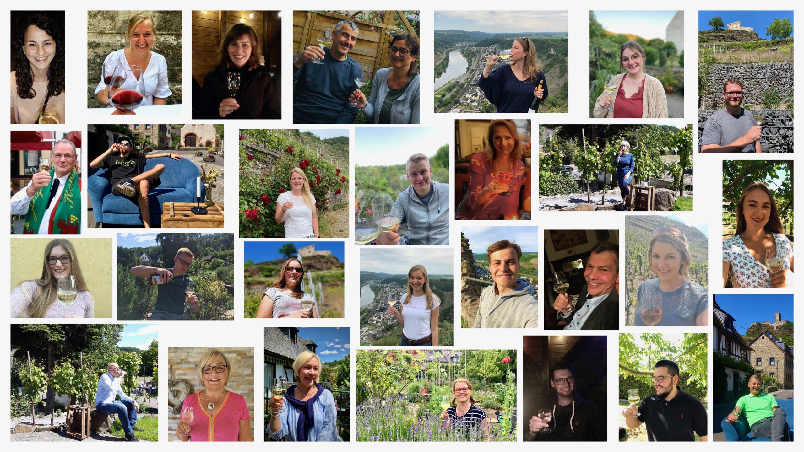 Weinfreunde Gruppenbild